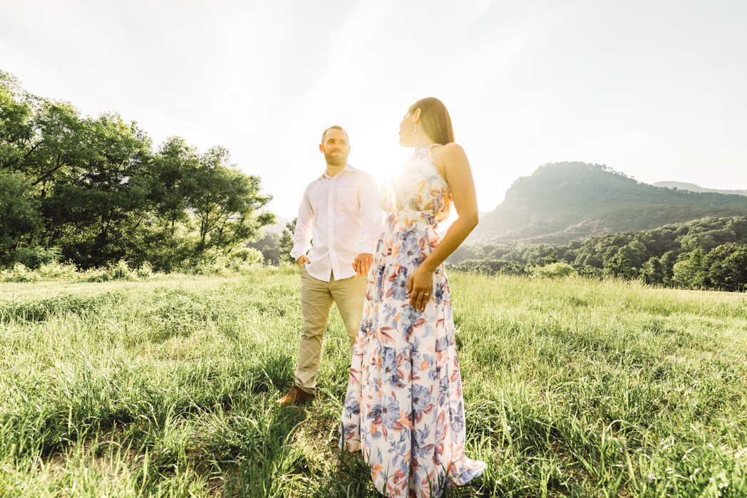 Lake Lure, NC Engagement and Wedding Photography